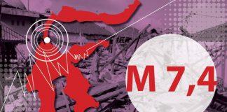Ilustrasi gempa Donggala dan tsunami Palu (Nadia Permatasari/detikcom)