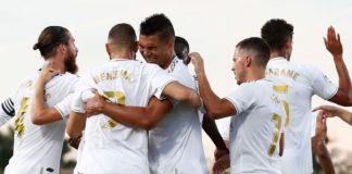 Real Madrid mengkunci Juara La Liga setelah mengalahkan Villareal